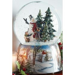 Musical Turning Snow Globe