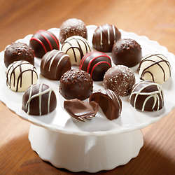 Flavored Chocolate Truffles Gift Box