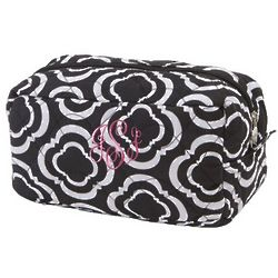 Quilted Honeycomb Cosmetic Spa Bag