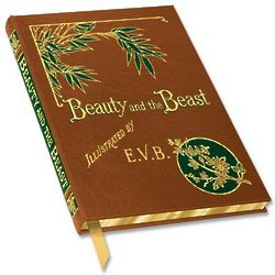 Beauty and the Beast 1875 Edition Reprint Book