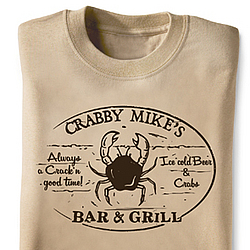 Crabby Bar and Grill T-Shirt