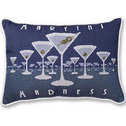 Martini Madness Pillow Pair