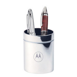 Corporate Alloy Pen Mug