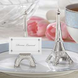 Evening in Paris Eiffel Tower Wedding Place Card Holders