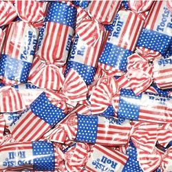 Five Pounds of USA Flag Tootsie Rolls