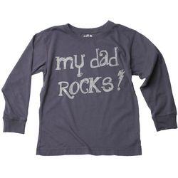 My Dad Rocks Long Sleeve T-Shirt