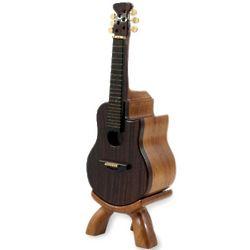 Mahogany and Ebony Spanish Guitar Puzzle Box
