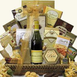 Sonoma Cutrer Chardonnay Premium Wine Gift Basket