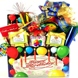 Your Special Day Deluxe Birthday Gift Box