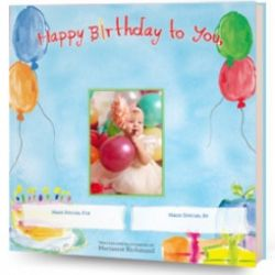 Happy Birthday To You Personalized Book