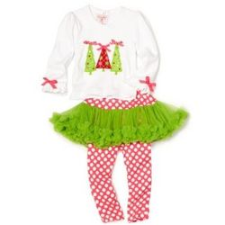 Girl's Triple Tree 2 Piece Outfit