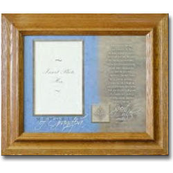 Memories of Grandpa Poem Photo Frame