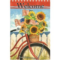 Summer Ride Welcome House Flag