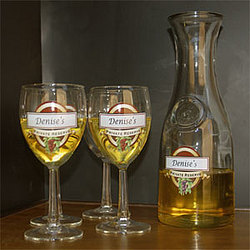 Personalized Private Reserve Wine Carafe