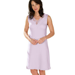 Lavender Lovely Lace Cotton Nightie