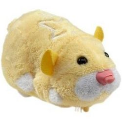 Zhu Zhu Pets Hamster Pipsqueek in Yellow