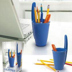 Uncapped Pen & Pencil Holder