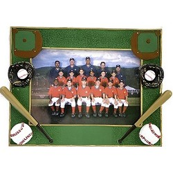 Baseball Themed Picture Frame