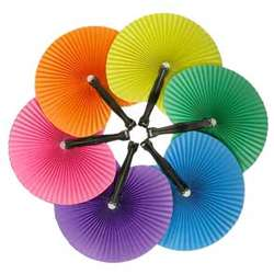 Solid Color Paper Fan