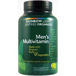Certified Organics Men's Vegetarian Multivitamin