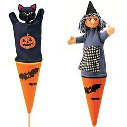 Halloween Cone Puppet