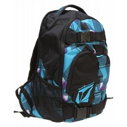 Equilibrium Backpack Blue Plaid