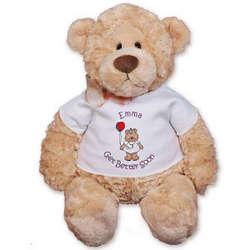 Personalized Large Get Better Soon Nurse Bear