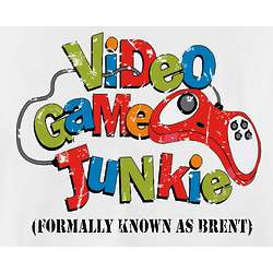 Personalized Video Game Junkie T-Shirt or Sweatshirt