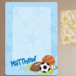 Personalized Sports Dry Erase Board