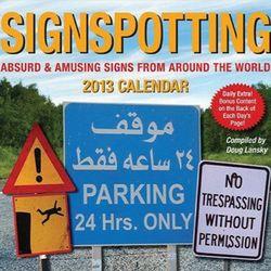 Signspotting 2013 Calendar