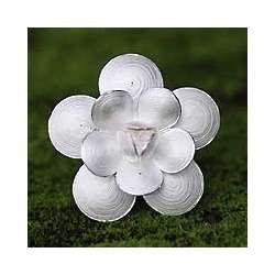 Symbol to Love Sterling Silver Brooch