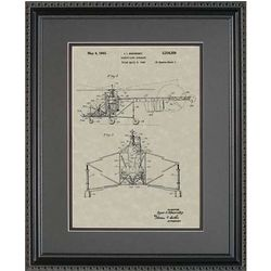 Helicopter Framed Patent Art Print