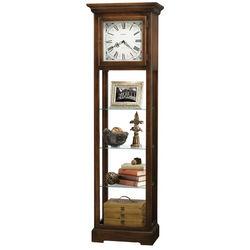 Le Rose Wood Cabinet Floor Clock