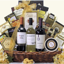 South American Classic Trio Wine Gift Basket