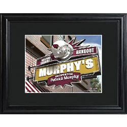 Arizona Cardinals Pub Sign Personalized Print