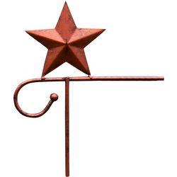 Star Copper Finish Garden Flag Stand
