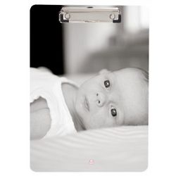 Clipboard Featuring Custom Black and White Photo