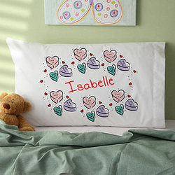 Loving Messages Personalized Pillowcase
