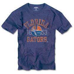"""Florida Gators Banner '47 Vintage """"Gator Over Florida"""" T-Shirt"""