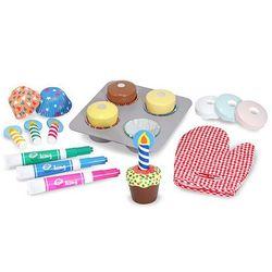 Melissa and Doug® Bake and Decorate Cupcake Set