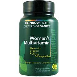 Certified Organics Women's Vegetarian Multivitamin