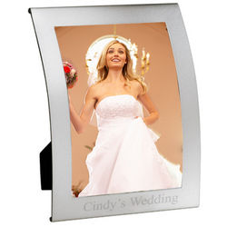 Aluminum Curve Wedding Picture Frame