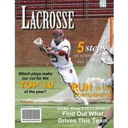 Lacrosse Personalized Magazine Cover