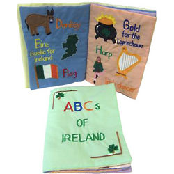 ABCs of Ireland Cloth Book