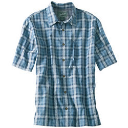 Men's Scenic Plaid Shirt