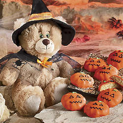 Bear with Halloween Cookies