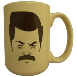 Parks and Recreation Ron Swanson Mug