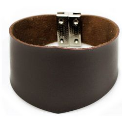 Men's Leather Wristband Bracelet