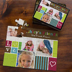 Kid's 25 Piece Personalized Photo Puzzle