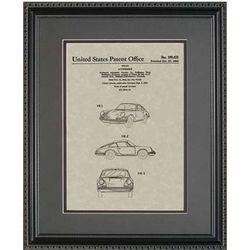 Porsche Framed Patent Art Print